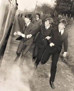 Beatles at Crowcombe © Courtesy of Universal City Studios via Facebook