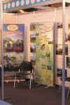 The WSR stand at the Trade Fair...